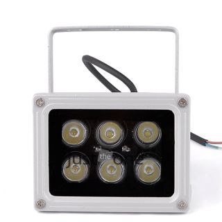 6W 85V 265V LED Flood Light Outdoor Waterproof Lamp Cold White Spotlight 660LM