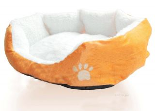 New 6 Color Pet Dog Puppy Cat Soft Fleece Cozy Warm Nest Bed House Cotton Mat M