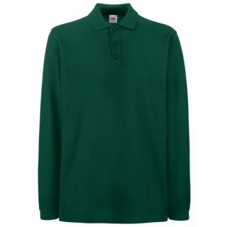 Free PNP Fruit of The Loom Mens Premium Long Sleeve Polo Shirt