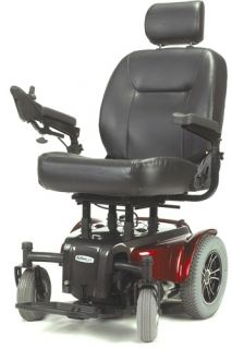 "Active Care Medalist 450 Power Chair Heavy Duty Electric Wheelchair 24"" Seat"