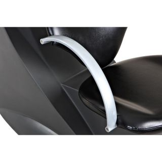 New Sturdy Black Salon Shampoo Chair Bowl Unit Su 25B
