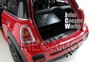 1 18 Kyosho Mini s John Cooper Works JCW Red BMW Dealer