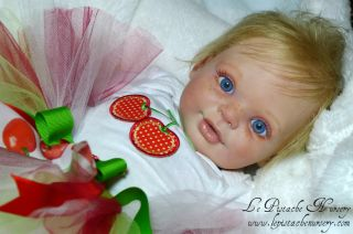 Reborn Doll Fake Baby Girl New Release Candy RuBert Photo Contest Winner LPN