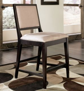 Martini 7pcs Contemporary Square Counter Height Dining Room Table Chairs Pub Set