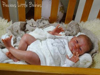 Precious Little Babies Reborn Newborn Baby Boy Doll Will by Natalie Scholl