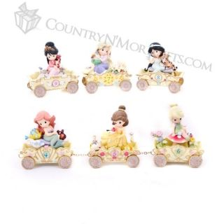 Precious Moments Disney Birthday Parade Train Full Set of 10 Age 1 9 Plus Prince