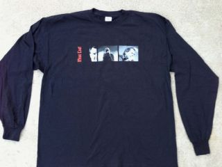 Meatloaf Hair of The Dog Concert Tour 2005 Black Long Sleeve Tee Shirt XXL New
