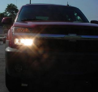 02 03 04 05 06 Chevy Avalanche High Beam Kit Tahoe Suburban All 4 Head Lights On