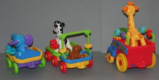 FP Fisher Price Amazing Animals Musical Zoo Train Moves