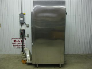 Traulsen One 1 Door Stainless Steel Reach in Blast Chiller RBC100 ZKR02