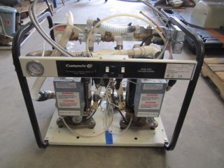 Custom Air Dental Dual Wet Vacuum Pump System Model MC 201