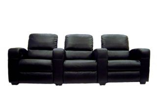 Home Theater Seating Recliner Chair Movie Seats Genuine Leather Lounger Sofa