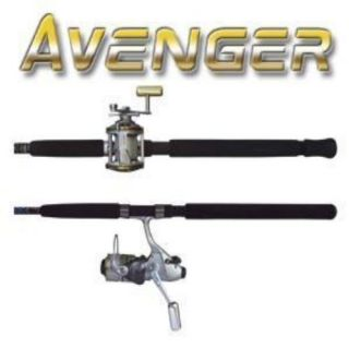 Okuma Avenger Bait Feeder Spinning Combo Medium Heavy 65 7' Eva Foam Grips