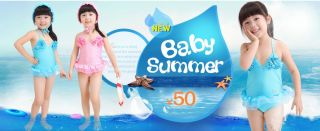 3pcs Kid Baby Girl Watermelon Ruffles Swimwear Swimsuit Bikini Tankini 5T