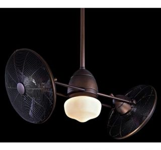 "New 42"" in Outdoor Gyro Ceiling Fan Oil Rubbed Bronze 9' Ceiling Required"