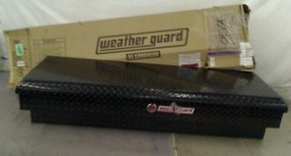 Weather Guard 174501 56 25 Cubic Feet Lo Side Black Aluminum Tool Box $570 00