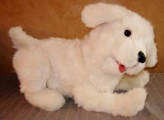 FurReal Friends Cookie My Playful Pup Puppy Dog White Lab