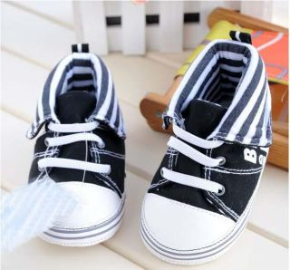 Baby Boy White Leather Shoes