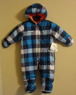 New $65 Carters Pram 18M MTH Boys Snowsuit Snow Suit CK Baby Clothes Winter Fall