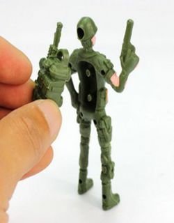 Mini Resin Soldier Military Special Arms Assemble Model Kit Scale Child Kids Toy