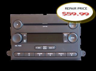 2006 2007 2008 2009 2010 Ford Explorer CD Single Disc Player Radio Repair