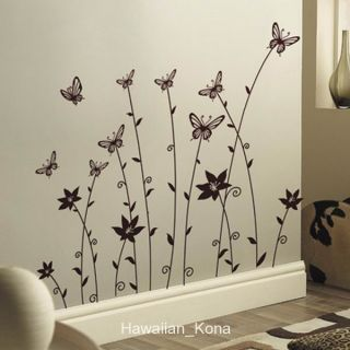 Butterflies Wall Sticker Decal JM7115