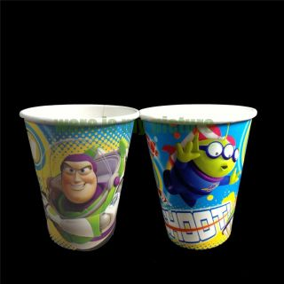 Disney Toy Story 3 Buzz Birthday Party Supplies 6X Paper Cups S1199