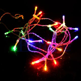 10 20 30 LED AA Battery Power Christmas Wedding Party String Fairy Light Lamp