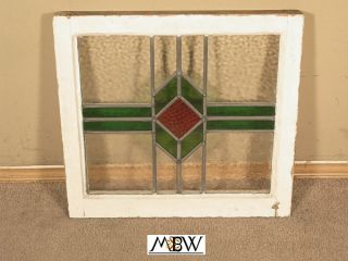 Antique Lead Glazed Stained Glass Window BAL90 28