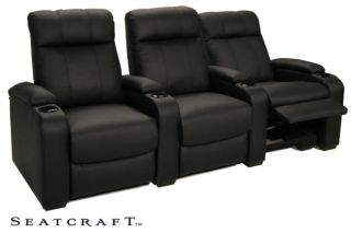 Seatcraft 5131 3 Seats Home Theater Seating Chairs