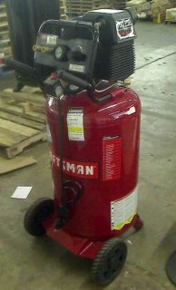 Craftsman 33 Gallon 1 6hp 150PSI Max Vertical Portable Air Compressor