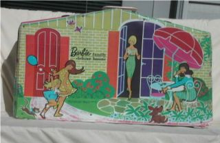 Vintage Barbie Family Deluxe House 1958