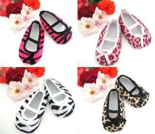 Beautiful Girls Baby Shoes Animal Prints 6 12 Month