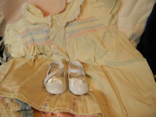1930's Vintage Antique Doll Girl Baby Clothes Lot