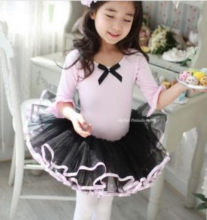Girls Kids Dance Wear Party Fairy Ballet Tutu Skate Cute Dress Skirt 3 8Y Beauty