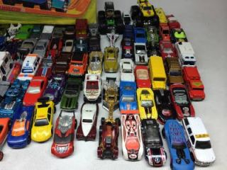 Big Huge Lot Over 100 Hotwheels Matchbox Cars Trucks Vtg Hot Wheels Case