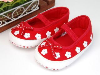 A181 New Baby Toddler Girl Red Dress Shoes UK 4