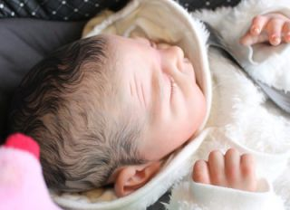 Beautiful Reborn Baby Boy Doll Teddy Sam's Reborn Nursery