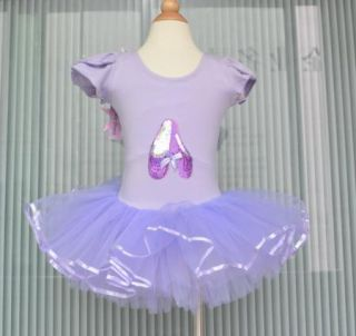 Girl Pink Party Leotard Ballet Tutu Costume Dress 3 8Y