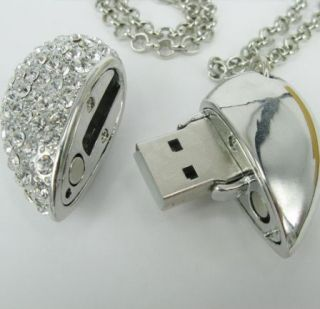 4GB Swarovski Crystal USB Flash Drive Pen Memory Stick