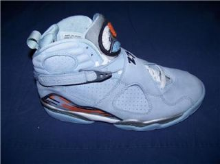 2007 Nike Air Jordan Retro 8 Ice Blue Size 7 Mens 8 5 Wmns