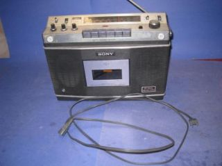 Sony CF 550A One Point Stereo Radio Tape Player Portable Vintage 70 Boombox 02S