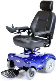 "Active Care Renegade Power Chair Heavy Duty 350 lb Electric Wheelchair 18"" Seat"