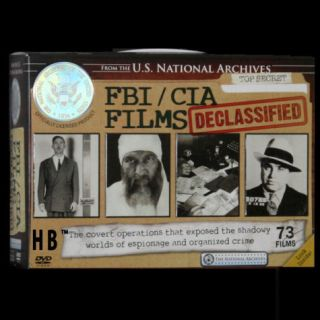 70 FBI CIA Films John Dillinger Gangsters KGB Spy More