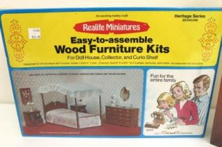 Doll House Miniature Wood Furniture Lighting Kit Lot of 7 SEALED Boxes EXTRAS