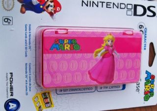 Nintendo DS Super Mario Game Case Princess Peach New