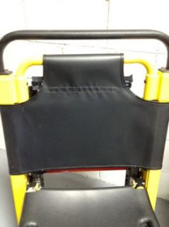 Stryker 6251 Stair Chair Replacement Soft Vinyl Backrest EMT EMS Ferno