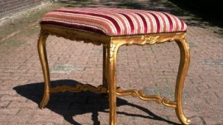 Beautiful Antique French Bed Sofa Side Table 19th Century