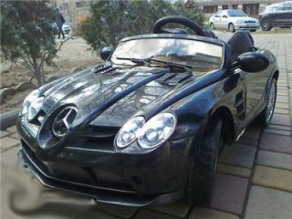 Licensed Mercedes Benz SLR McLaren 722s Kids Ride on Power Wheels Toy Car Black