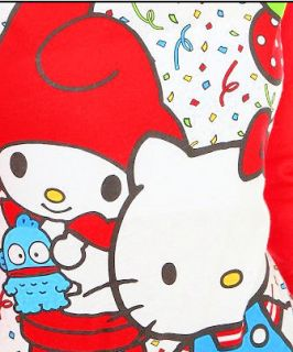 Hello Kitty 50th Anniversary Party Raglan My Melody T Shirt Top New Licensed